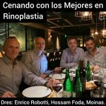 Dres. Enrico Robotti, Hossam Foda, Gabriel Moina y Daniel Moina.